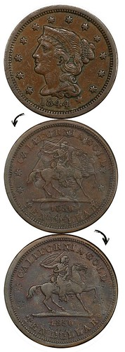 Baldwin Horseman $10 on Large Cent