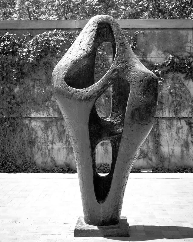 Barbara Hepworth, Figure for Landscape, 1960, Bronze 8/7/18 #sculpture #dallasmuseumart #artmuseum
