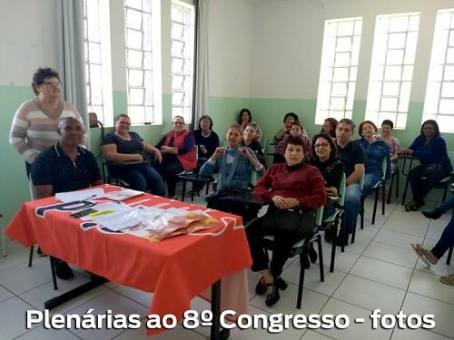 Plenárias ao 8º Congresso