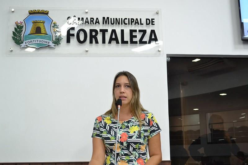 Vereadora Larissa Gaspar (PPL)