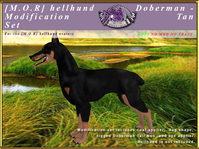E-MORHellHund-ModificationSet-DobermanTan - TeleportHub.com Live!