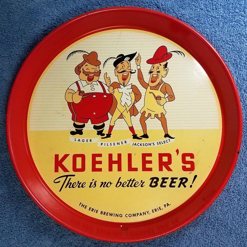 Koehlers-Beer-Tray-Erie-Brewing