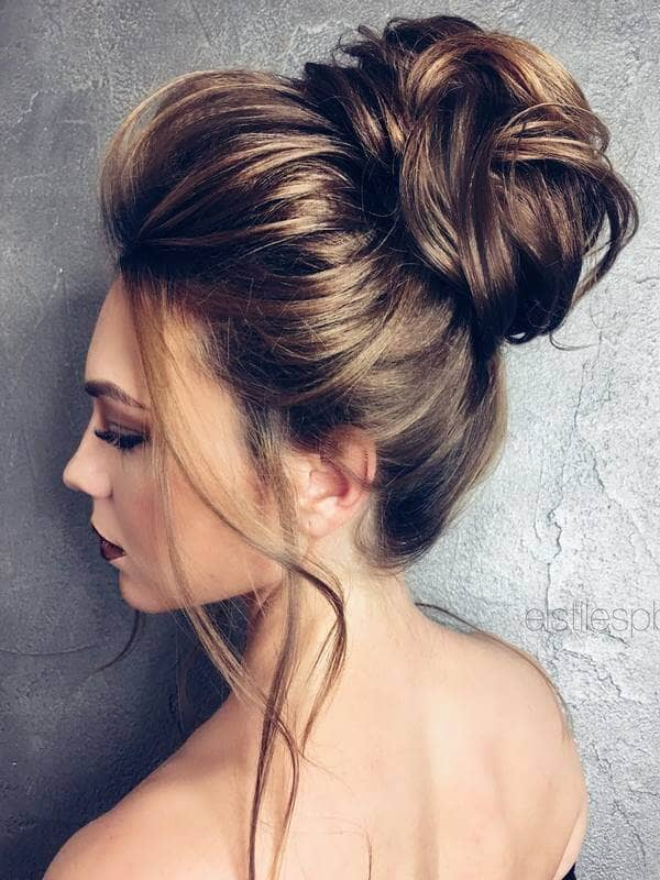 Best Adorable Bun Hairstyles 2019-Inspirations That 8