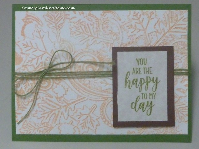 Autumn Jubilee Stamping Cards at FromMyCarolinaHome.com