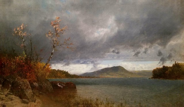 John Frederick Kensett (American 1816-1872),Lake George,1870,oil on canvas