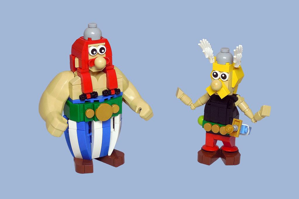 LEGO® MOC by Vitreolum: Astérix & Obélix v2
