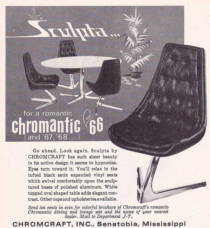 Chromecraft Sculpta 1966