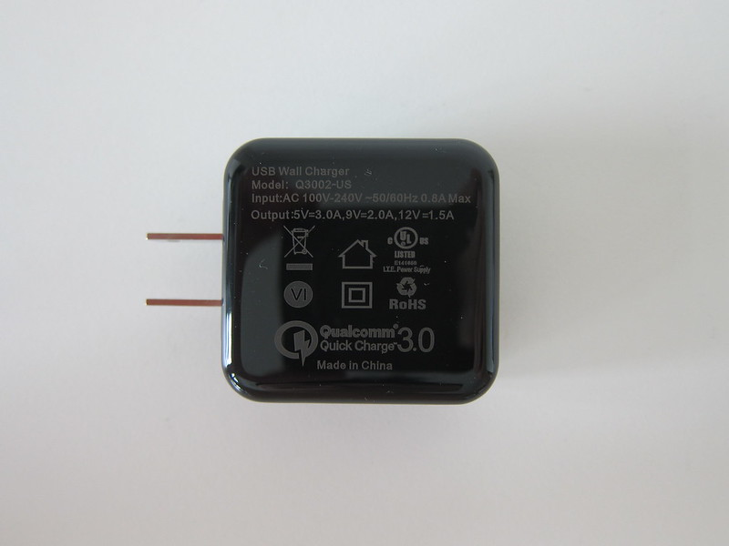 Choetech QC3 Fast Charger - Right