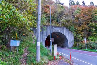 道坂隧道の駐車スペースに停めて、歩行開始。
