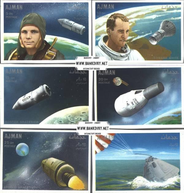 Známky Ajman 1971 Apollo 7, nerazená séria