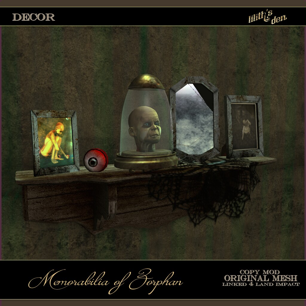 Lilith's Den – Memorabilia of Zorphan