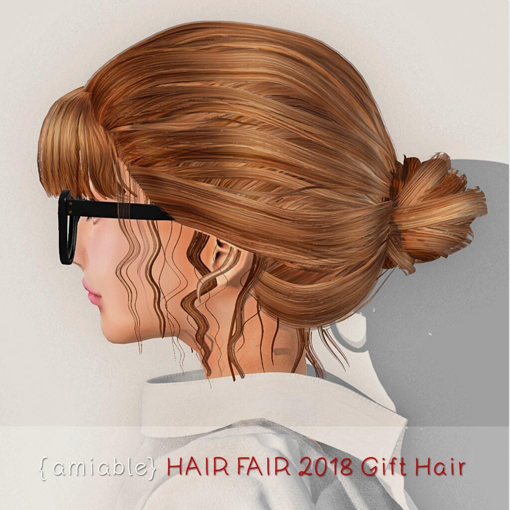 {amiable} HAIR FAIR 2018 GIFT HAIR. - TeleportHub.com Live!
