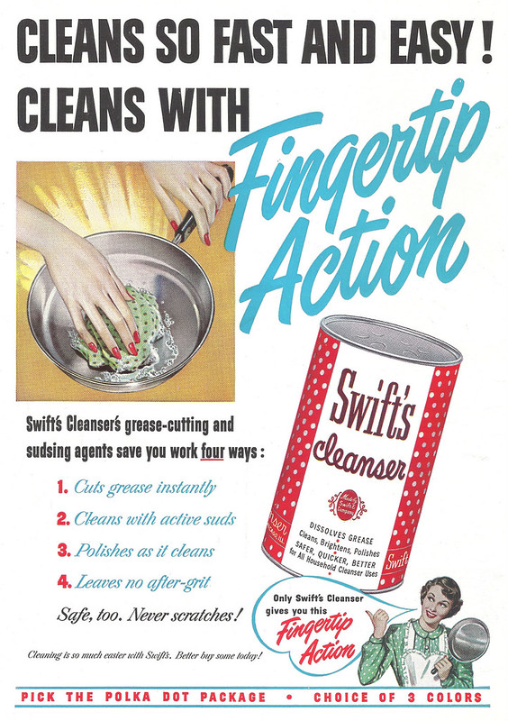 Swift's Cleanser 1950
