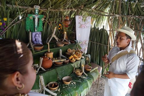 Concurso del altares de Hanal Pixán 2018