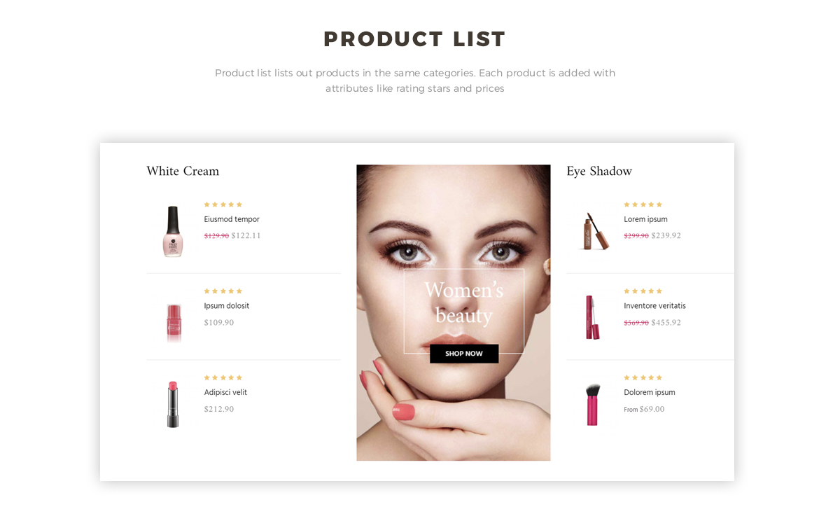 product list - Bos Mac Prestashop 1.7 theme - Cosmetic and Beauty Store - free install support