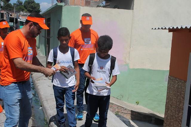 Prefeitura realiza ação de prevenção em áreas de risco de Manaus