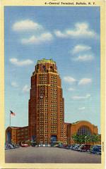 Buffalo Central Terminal Postcard