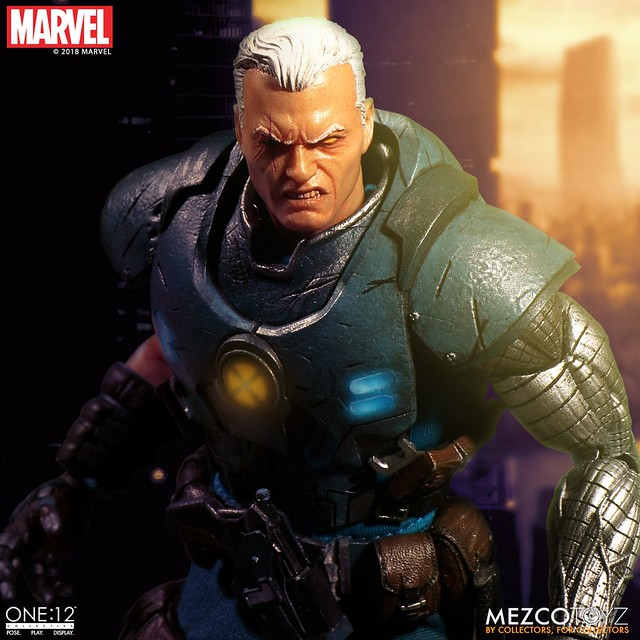 Bridge of Past and Future, The Powerful Mutant Cyborg Joins the Battle! One:12 Collective Cable Figure