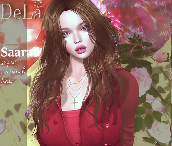 "=DeLa*= new hair ""Saarah"" - TeleportHub.com Live!"