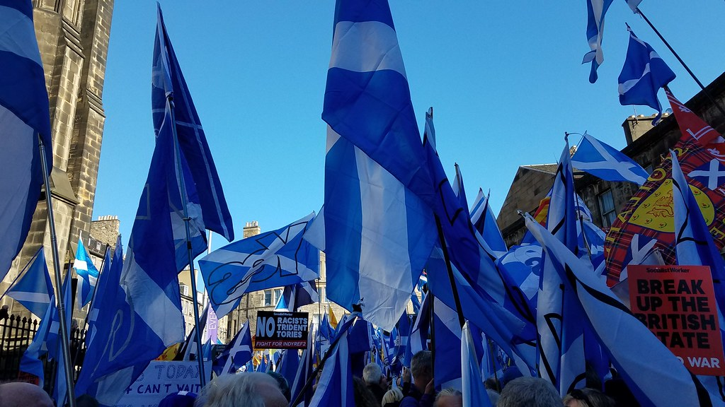 Edinburgh March for Independence, October 2018