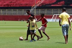 Visita do lar vida ao Barradão - Fotoas: MAuricia da Matta / EC Vitória