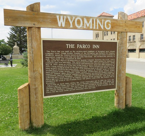 The Parco Inn Marker (Sinclair, Wyoming)