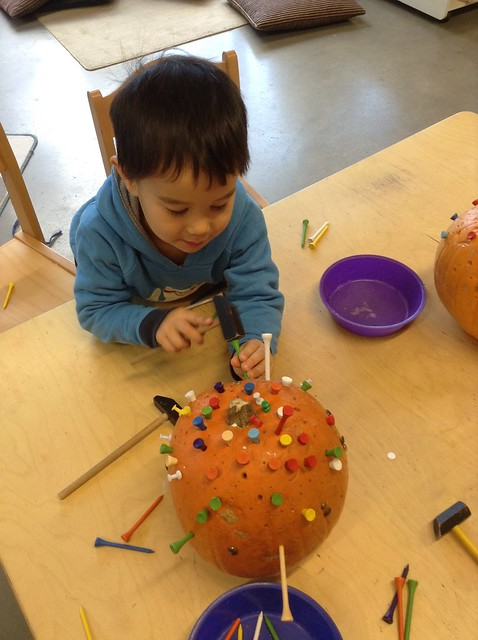 The Preschool Pumpkins
