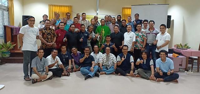 Retret Unio Keuskupan Sintang 9- 12 Okt 2018