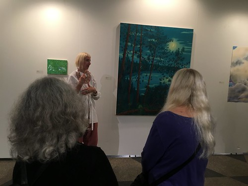 2018 Sept 25 Wine and Cheese at the 808 Gallery