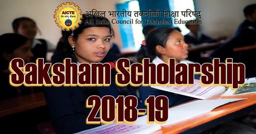 Saksham Scholarship