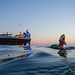 Elle swimming at dusk by lomokev