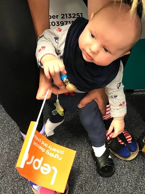 Our Youngest Supporter