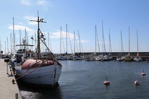 The marina of Byxelkrok