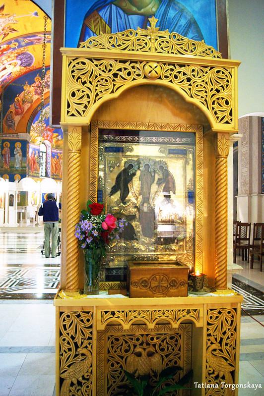 Икона в соборе Св. Преображения