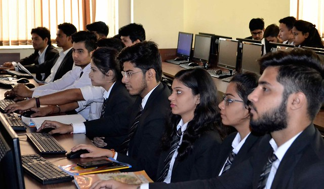 Asian Law College students Session with Manupatra Expert