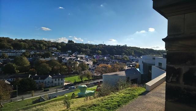 A sunny day in Bangor / Dydd heulog ym Mangor