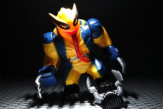 Symbiote Wolverine vs Logan
