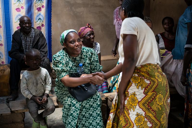 Ensemble avec des femmes engagées - Ensemble pour un monde meilleur - 2019 / Hôte de campagne