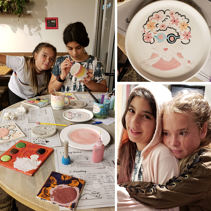 pottery-painting