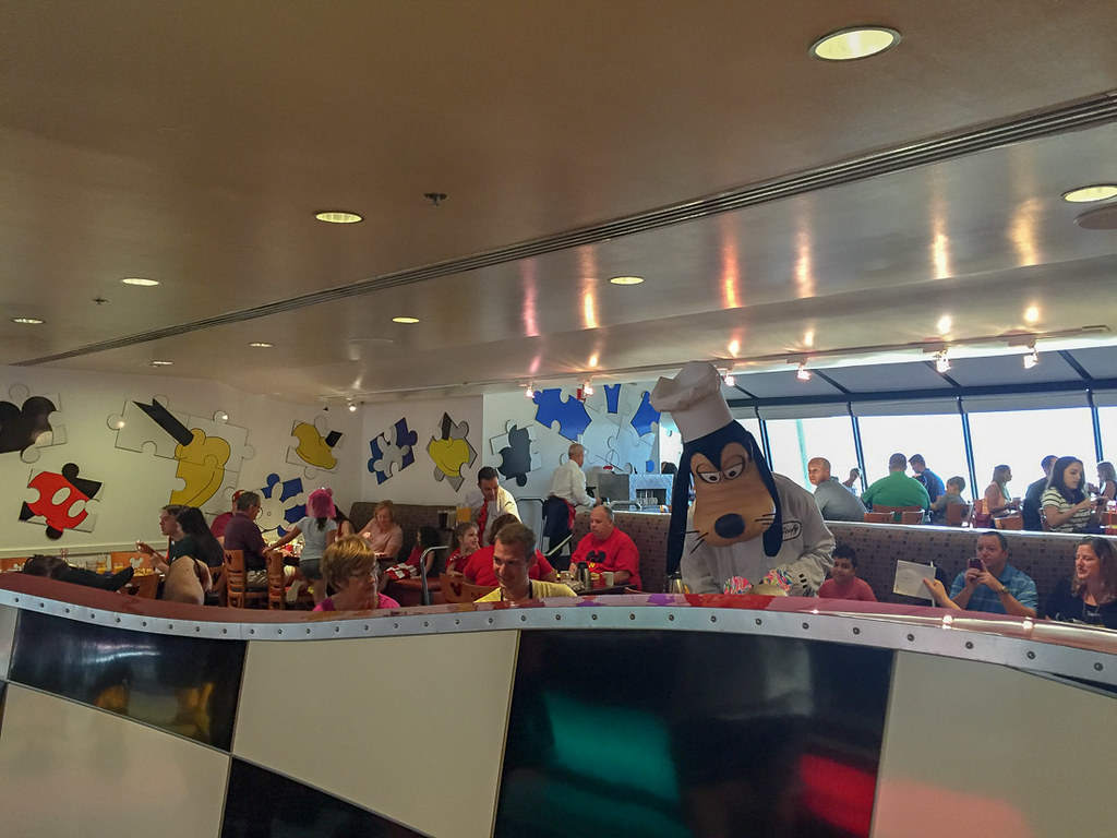 Inside Chef Mickey's at the Contemporary