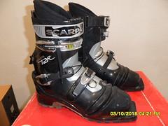 telemarková bota Scarpa T2R vel. 300 mm - titulní fotka