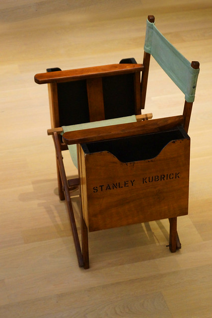 The Establishing Shot : STANLEY KUBRICK: THE EXHIBITION & THE DESIGN MUSEUM 2019 EXHIBITION PROGRAMME ANNOUNCEMENT - POSSIBLY THE MOST FAMOUS FILM PRODUCTION CHAIR EVER - STANLEY KUBRICK'S DIRECTORS CHAIR - DESIGN MUSEUM, LONDON