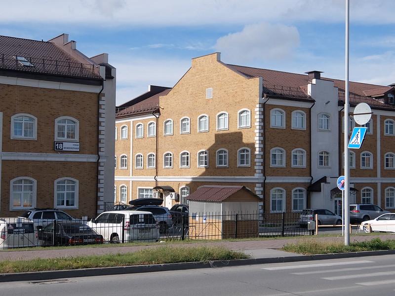 Новосибирский академгородок - Домики в европейском стиле