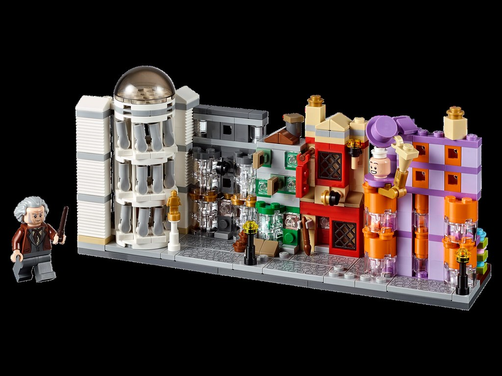 40289 - diagon alley microbuild listed on the us lego store as a