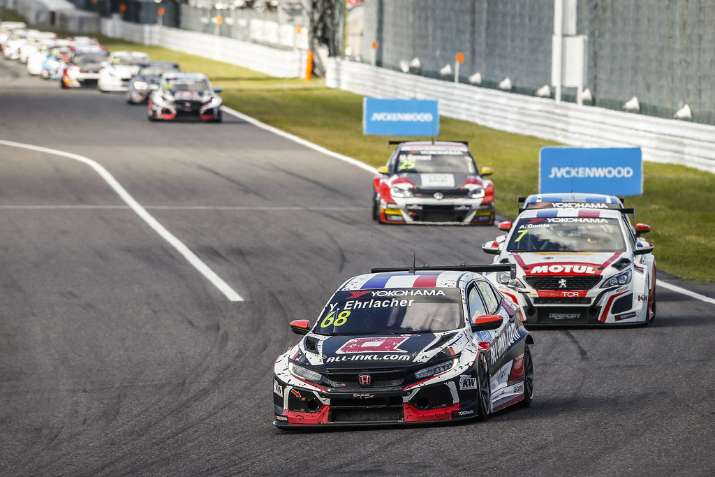 68 EHRLACHER Yann, (fra), Honda Civic TCR team ALL-INKL.COM Munnich Motorsport, action during the 2018 FIA WTCR World Touring Car cup of Japan, at Suzuka from october 26 to 28 - Photo Francois Flamand / DPPI