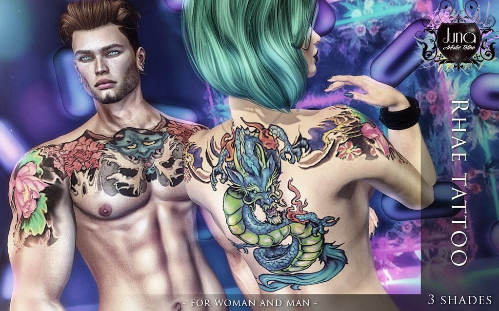 Rhae tattoo