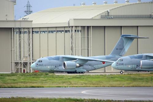C-2 航空自衛隊第403飛行隊 88-1207 IMG_7997_2