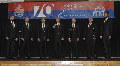 Наступ хора Св. Серафим Саровски из Зрењанина