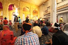Inside the Gurudwara Bangla Sahib, Delhi