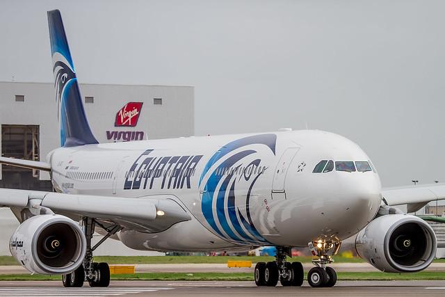 SU-GDS Egypt Air Airbus A330-300